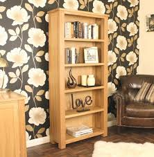 aston solid oak hidden. Aston Oak Large Open Bookcase. Solid Hidden