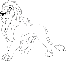 Lion Coloring Pictures Trustbanksurinamecom