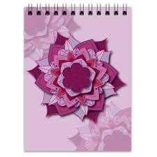 <b>Блокнот Блокнот Sacred</b> flower geometry #2478967 от VarvarArt