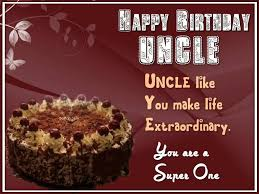 Birthday Card For Uncle From Nephew Birthday Cake