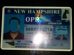 Hampshire New Maker Fake Id Card