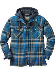 Legendary Whitetails Clothing Size Chart Legendary Whitetails Mens Maplewood Hooded Shirt Jacket