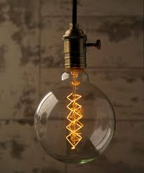 Large Filament Light Bulbs Globe Spiral Xtra Large