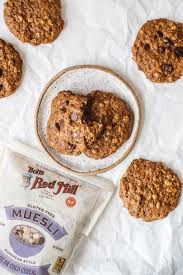 Muesli Kitchen Sink Cookies Brewing Happiness