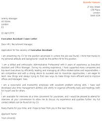 Assistant Cover Letter Sample Executive Assistant Cover Letter Example Icover Org Uk