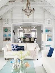 beach home interior design. Perfect Interior Beach Living Room  Lacefield Designs Casablanca Midnight Ikat Pillow  Better Homes And Gardens For The Attic On Home Interior Design M