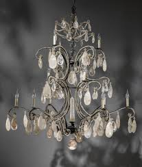 rock crystal chandelier licious parts for cleaning modern schonbek