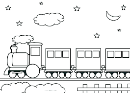 steam engine coloring pages of trains fresh images train page free