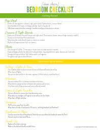 Bedroom Furniture List Deep Clean Bedroom Checklist