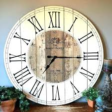 36 inch wall clock inch wall clock inch farmhouse clock rustic wall clock by barn wood 36 inch wall clock