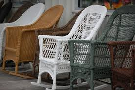 resin wicker furniture. Wicker Rocking Chairs Resin Furniture 5