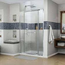 framed pivot shower door doors franklin brass