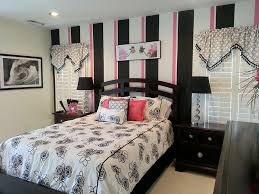 Wonderful ... Classic Black And White Stripes With A Touch Of Pink [Design: Delmarva  Blinds U0026