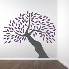 tree wall decals design inspiration big tree wall decal come with gray