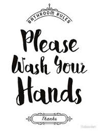printable bathroom art.  Bathroom Please Wash Your Hands Hand Washing Poster U0027Please Handsu0027 U2013  More Information Bathroom Art Wall Decor Printable  In O