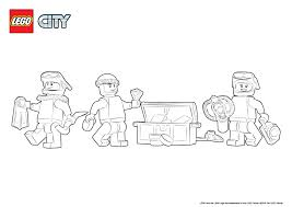 Small Picture 60092 Deep Sea Submarine Colouring Page LEGO City Activities