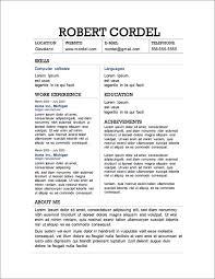 Microsoft Resume Templates 2013 Extraordinary Free Resume Samples 48 Free Resume Templates 48