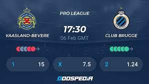 Waasland-Beveren - Club Brugge » Live Score & Stream + Odds, Stats, News