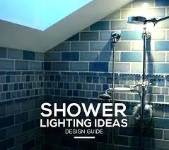 in shower light steam fixtures recessed fixture waterproof lighting ideas neat li
