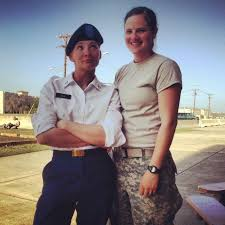 Lesbians in military images