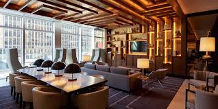 Living Room Bar Nyc Jeffrey Beers Brings Fearlessly Chic Design To Renaissance New