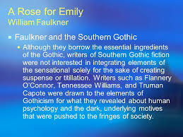 a rose for emily william faulkner ppt  a rose for emily william faulkner