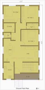 sq ft east facing duplex house plan