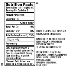 Crystal Light Peach Tea Caffeine Content Details About Pure Leaf Iced Tea Raspberry 18 5 Fl Oz 24 Bottles