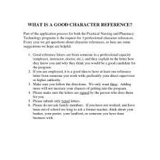 Sample Of Good Moral Character Letter For Medical School Archives