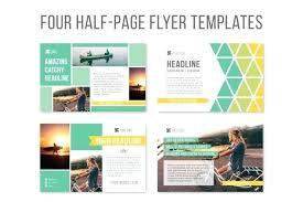 Half Sheet Flyer Template Publisher Publisher Half Page