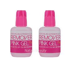 2pcs lot ib brand gel remover for eyelash extension glue remove tool free shipping