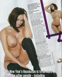 Woman of reality tv nude