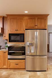 Microwave In Kitchen Cabinet 25 Best Ideas About Built In Microwave Oven On Pinterest Corner