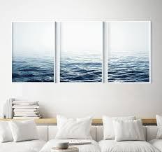 Ocean <b>Print</b> Set of 3 <b>Ocean Waves Print</b> Set Ocean <b>Print</b>   Etsy