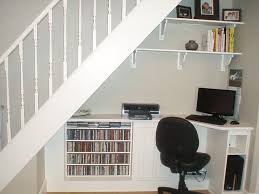 office storage solution. Smart Space Under Stair Storage Solution : Fascinating Solutions Design Ideas With Computer Office 0