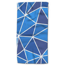 Light Blue Triangle Amazon Com Hgod Designs Bath Towel Triangle Abstract Light