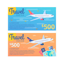 travel voucher template free modern summer holiday voucher trip template for free