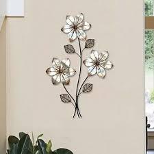 metal flower wall decor metal wall