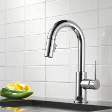 Delta Classic Kitchen Faucet Delta Trinsicar Kitchen Single Handle Pull Down Bar Prep Faucet