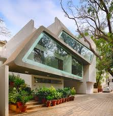 Design Thoughts Architects Bangalore Architecture Continuous Designs A Modern Home In Bangalore