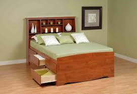 good queen size platform bed with drawers  bedroom ideas