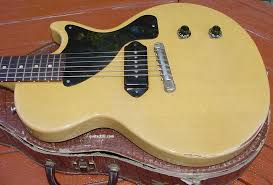 tv yellow les paul jr. gibson les paul junior guitar tv model lp info electric vintage 1954 1955 1956 1957 1958 1959 1960 tv yellow jr j