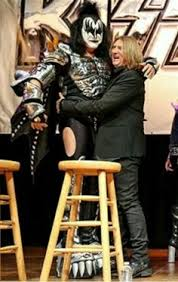 gene simmons kiss boots. musicians gene simmons and joe elliott appear at a press conference to announce the kiss def leppard heroes tour\u0027 house of blues on march 2014 in kiss boots