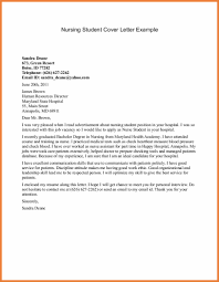 Sample Nursing Cover Letter Sop Proposal