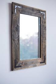 diy wood mirror frame. Diy Wall Mirror Frame New Reclaimed Wood Farmhouse Handcrafted In  Plano Texas Diy Wood Mirror Frame S