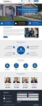 Web Design Reston Upmarket Conservative Financial Service Web Design For A