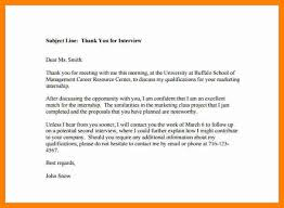 8 Follow Up Email After Interview Subject Line Resume Type