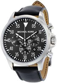 images gallery michael kors gage watch for men og leather band