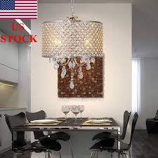 drum chandelier crystal modern 4 lights ceiling light fixture lamp pendant light 1 of 6only 1 available