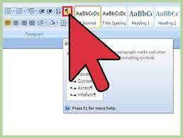 Microsoft Word Document There Will Be No Empty Pages To Be Deleted